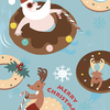 クリスマスのイラスト②