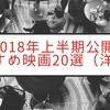 大豊作!2018年上半期公開のおすすめ映画20選!【洋画編】