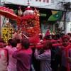 インドのウダイプルでタイミング良くお祭り見学