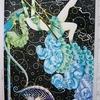 イメージはサーカス!パリのアール・デコファッションBOOKを塗ったよ。