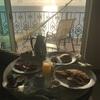 カンクン2日目 - ハイアットジラーラの朝食ルームサービス