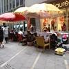 靴磨きを発見 香港・中環