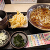 ゆで太郎とその他の立ち食い蕎麦、主にかき揚げ