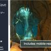 Hand Painted Cave Pack 明暗の使い方が美しい「洞窟」のファンタジーアニメ風3Dモデル