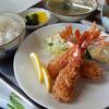 上越市名立区「食堂 徳市」エビフライ定食を注文!美味しそうに見えるアングルを考えてみました!