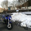 道の駅みなの へツーリングしてきた。雪が残ってたよ(´⊙ω⊙`)