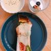 朝ご飯:超簡単ベーコンチーズトースト☆息子の変化
