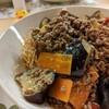 パリパリ麺とピリ辛ナスのコラボ!麻婆茄子皿うどんのレシピ