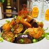 【レシピ】鶏むね肉と茄子の甘酢炒め