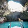 堂ヶ島の「洞窟めぐり遊覧船」に乗って、天窓洞へ