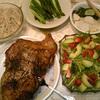 今日から夕食の写真アップします