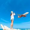 真っ青な空の日は飛行機を撮りに行こう!