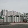 工事中(大きな駐車場跡地)