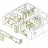 汚い美容室をリノベで綺麗に 美容室のリノベーション計画-4 開業から10年、古く手狭になってきたお店を適正価格で生き返らせる改装リノベ工事計画