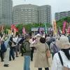 今年の大阪労連のメーデーと大阪全労協のメーデー