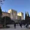 【スペイン】3日目-3 グラナダのハイライト!アルハンブラ宮殿の要塞アルカサバ