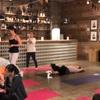 晴れていれば屋上でヨガ!grid Night yoga に参加して来ました