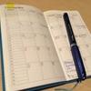 スケジュール帳とノートになったシステム手帳(手帳2冊持ちを考える)