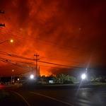 「キラウエア火山」が噴火している「レイラニ・エステーツ地区」の手前まで行ってみた!!