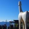 【高尾】高尾山~陣馬山 富士山と白馬、冬の奥高尾縦走