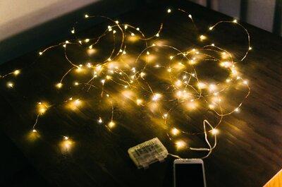 【100粒のLEDがキラキラ】ロマンチックに飾れるフェアリーライトイルミネーションを飾ろう!