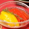パプリカの煮浸しエルブ・ド・プロバンス風味