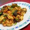 【インド料理レシピ】ケララ風エビのスパイス炒め