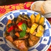 夏野菜いっぱいスペアリブのトマト煮込み