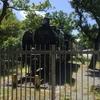 鶴林寺公園(蒸気機関車の展示)