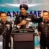マレーシア警察庁ホームページ掲載