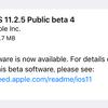 iOS11.2.5 Public Beta4がリリース