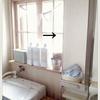 洗面台 扉裏の収納。左側編。