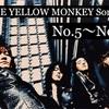 音楽 THE YELLOW MONKEYの好きな曲選んでみました (No.5〜No.1)