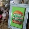 フレッシュネスバーガーのアボガドと生ハムのハンバーガー