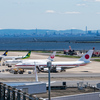 山口旅行から戻ってきた羽田空港で富士山と政府専用機を撮る【2018.5.20】