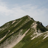 「山の日」の唐松岳1日目