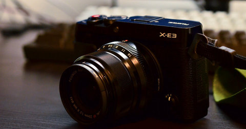 FUJIFILM X-E3とXF23mmF2 R WR買った