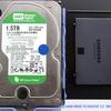 激遅原因のWDのHDDをSSDに!etc.