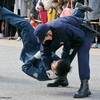 令和2年 京都府警察年頭視閲式 2020