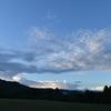 飛火野 空/朝まだき。きっかり15分のパフォーマンス。目まぐるしく表情を変えていきます。