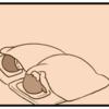 【8コマ漫画】タイトル 笑う母
