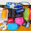 台風のおかげで富士山に行けなかったので準備していた荷物を書き出してみた