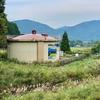 マキノ町中央簡易水道西部配水池(滋賀県高島)