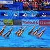 世界水泳 シンクロチームテクニカル