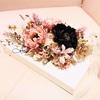【フランチェスカ・カルトナージュ&フラワーアレンジメントレッスン】~フレームBoxにお花を詰めて~