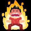 肩書きを変えました!「日本で四番目に熱い男大地」です。