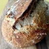 【天然酵母】スペルト小麦と強力粉と全粒粉の天然酵母パン。作り方・レシピ。
