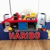 【コストコ】HARIBOの空き箱でおもちゃ収納