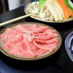 【大阪】ミシュラン掲載のしゃぶしゃぶ店『やすだ』ですき焼きを食べました