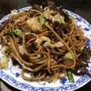 弥生町の「中国蘭州牛肉拉麺 王記」で蘭州炒麺